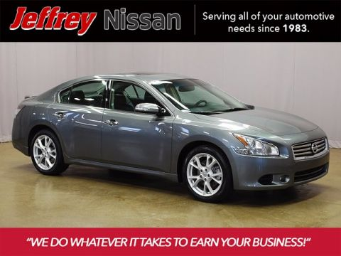 Certified Pre-Owned 2014 Nissan Maxima 3.5 SV FWD 4D Sedan