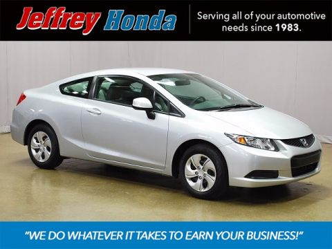 Certified Pre-Owned 2013 Honda Civic LX FWD 2D Coupe