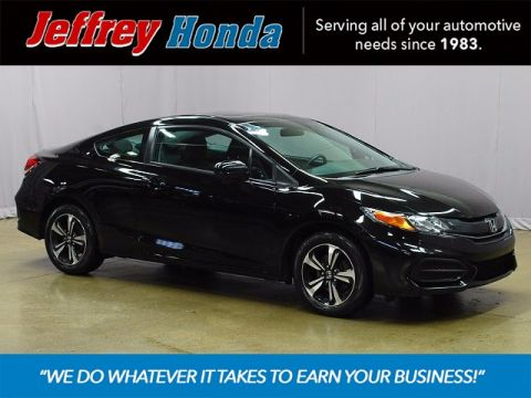 Certified Pre-Owned 2014 Honda Civic EX FWD 2D Coupe