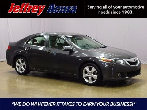 Pre-Owned 2009 Acura TSX Technology FWD 4D Sedan