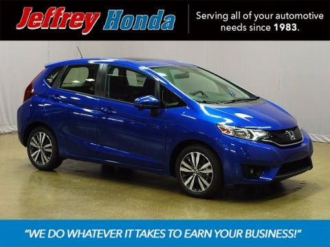 New 2017 Honda Fit EX FWD 4D Hatchback